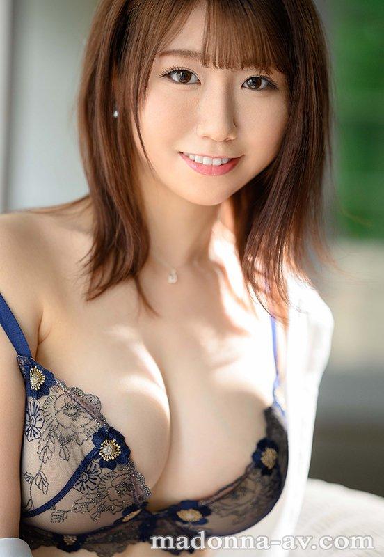 【新人AVデビュー、安みなみちゃん】可愛さと色気が同居した、とてもエッチで魅力的な人妻さんでした!
