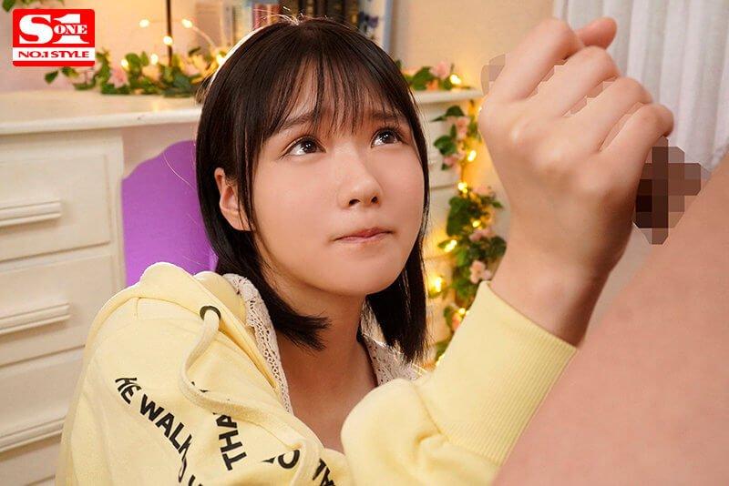 【新人AVデビュー、小倉七海ちゃん】素朴なうぶ感満載の女の子の困ったような泣きそうな顔からのエロ顔への変化、必見です!